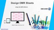 Design OMR Sheet using OMR Software