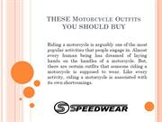 THESE Motorcycle Outfits YOU SHOULD BUY