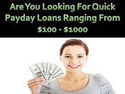 Avail Small Payday Loans For Quick Financial Support