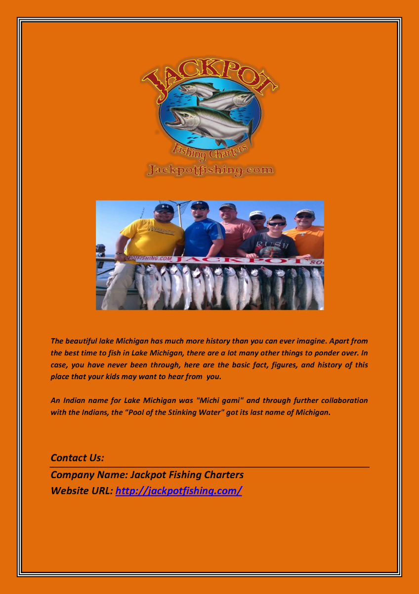 Best fishing charters service in lake michigan wisconsin for Michigan fishing license cost 2017