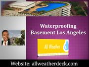 Waterproofing Basement Los Angeles