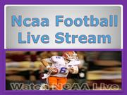 Ncaa Football Live Stream