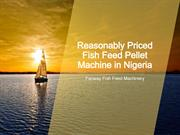 Nigeria fish feed machine price