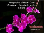 Health care services in private sector