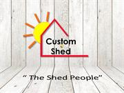 Custom storage shed designs | Utah Custom Shed