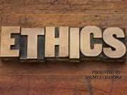 WHAT IS ETHICS 1