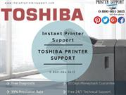 Toshiba Printer Tech Support. Call Toll-Free  0-800-084-3613