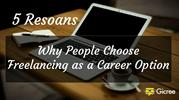 5 Reson People Choose Freelancing as Career Option