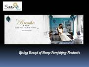 Decor your Home with Gorgeous Home furnishing Products- Saavra India