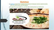 All in one food destination-Pita Plus