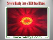 Several Handy Uses of LED Road Flares