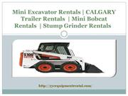 Skid Steer Rentals and Skid Steer Attachments