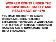 Worker Rights Presentation