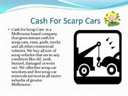 Cash for scarp cars | Car Wreckers | Cash for Cars