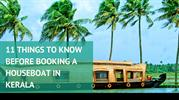 11 THINGS TO KNOW BEFORE BOOKING A HOUSEBOAT IN KERALA