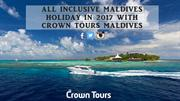 All Inclusive Maldives Holiday in 2017 with Crown Tours Maldives