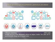 Open source development services in India