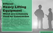 Main Types of Cranes Used For Heavy Lifting Purposes