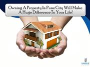 Owning A Property In Pune City Will Make A Huge Difference