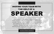 Why businesses should hire an external agency to book quality speakers