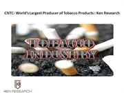 China Tobacco Industry Research,China Tobacco Industry growth-Ken Rese