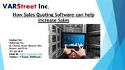 How Sales Quoting Software can help increase Sales