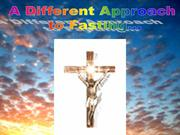 Lent - A different approach to fasting.