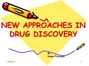 New Approaches in Drug Discovery