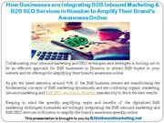 How Businesses are Integrating B2B Inbound Marketing & B2B SEO Service