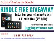 What is Contact Number of Kindle? Dial 1-888-514-9993