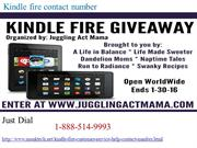 Kindle fire Contact Number   1-888-514-9993