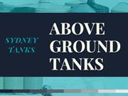 Above Ground water tanks
