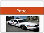 Patrol and its Services -John Stirn