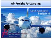 Freight Forwarding Services By Packair Airfreight Inc,California