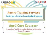 Providing Flexible Learning Options to Boost the Career Prospects