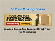 St Paul Moving Boxes