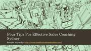 Four Tips For Effective Sales Coaching Sydney