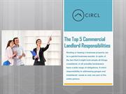 The Top 5 Commercial Landlord Responsibilities
