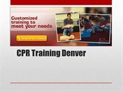 CPR Training Denver