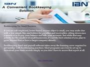Bookkeeping For Small Business
