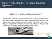 Luxurious Private Jet Charter - Shy Aviations