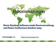 Raumverwaltung and Room Conference Solution