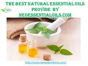 The Best Natural Essential Oils provide  by Neoessentialoils.com