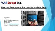 How can Ecommerce Startups Boost their Sales
