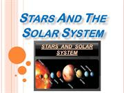 Stars And The Solar System