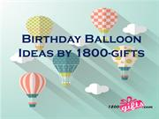 Wish Happy Birthday With Birthday Balloons