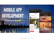 Kuwait Mobile App Development Services and Solutions