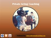 Private Acting Coaching