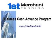 Can your Business  use a Cash Advance?