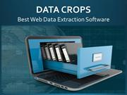 Custom Web Data Extraction Services - DataCrops